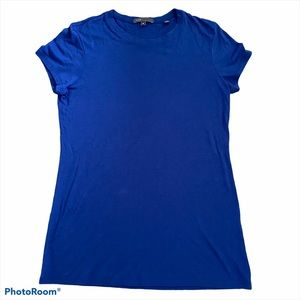 Vince Tissue Weight Royal Blue Scoop Neck …